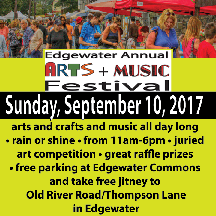 Arts and Music Festival Sunday September 10, 2017